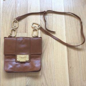 Badgley mischka over the shoulder handbag